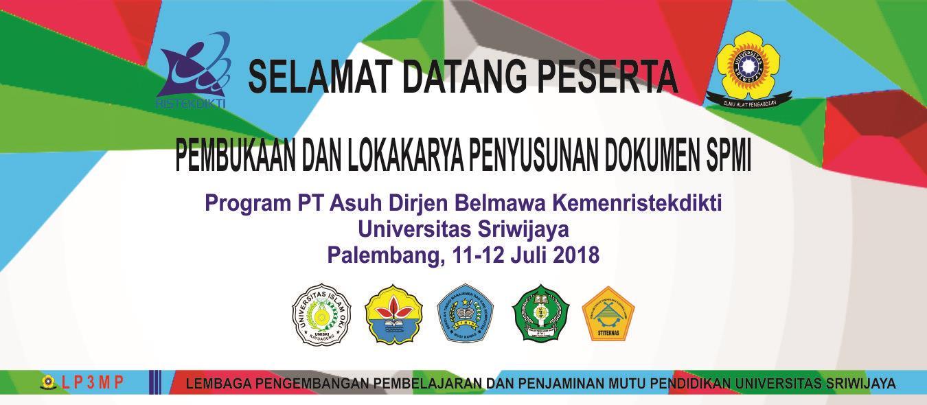Pembukaan Program PT Asuh 2018 - Universitas Sriwijaya
